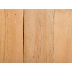 Doniczka drewniana jasny brąz kwadratowa 24 x 24 x 24 cm akrini marki Beliani
