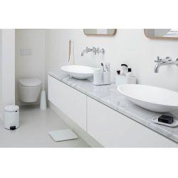 - zestaw akcesoriów łazienkowych - biały - biały marki Brabantia