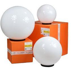 Zestaw 3 zewnętrznych lamp kule ogrodowe - luna balls 30, 40, 50cm marki Lunares