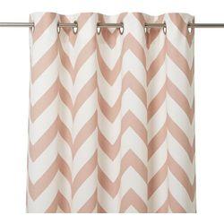 Zasłona wabana 140 x 260 cm różowa marki Goodhome