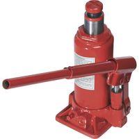 Podnośnik hydrauliczny, 007-T-GS-3T, wysokość pracy 190-380 mm, udĽwig 3 t, czerwony, HYDR.WAGENHEBER 3 T