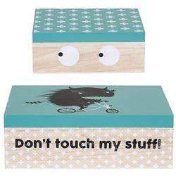 Zestaw pudełek z przykrywką, Naturę, pawłonia