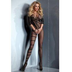 Questa erotyczne bodystocking z z rękawem 3/4 w geometryczne wzory wyprodukowany przez Livia corsetti