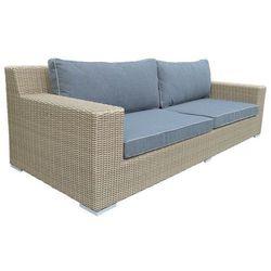 :: kanapa ogrodowa 3-osobowa cloud z poduszkami marki Miloo