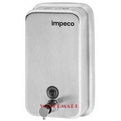 Dozownik na mydło w płynie stalowy 1L DISH5V Impeco (5902734850966)
