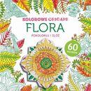 Praca zbiorowa Flora, kolorowanka z origami - buchmann darmowa dostawa kiosk ruchu (9788328028340)