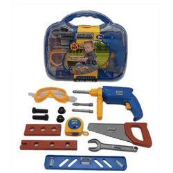Zestaw narzędzi z wiertarką w skrzynce 2 15 el. (5907791582034)