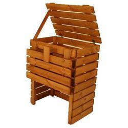 Kompostownik drewniany ogrodowy - 400l