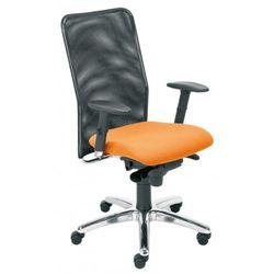 Krzesło obrotowe montana r15g steel11 chrome - biurowe, fotel biurowy, obrotowy marki Nowy styl