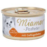 katzenzarte fleischpastete - pasztet mięsny smak: wątróbka drobiowa 24x85g marki Miamor