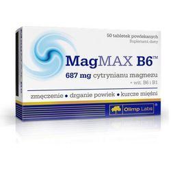 Olimp MagMax B6 (Cytrynian magnezu) 50 tabl. (artykuł z kategorii Witaminy i minerały)