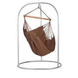 Zestaw hamakowy: fotel hamakowy modesta ze stojakiem romano, brązowy moc14roa16 marki La siesta