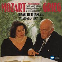 Mozart / Grieg: Piano Sonatas (CD) - Leonskaja Elisabeth, Richter Światosław