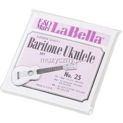 LaBella L 25 struny do ukulele barytonowego 28-32-38W-36W z kategorii Pozostała muzyka