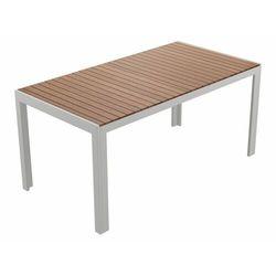 FLORABEST® Stół ogrodowy z drewnianym blatem 80 x 7 (4056233858013)