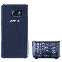 Etui SAMSUNG z klawiaturą QWERTY do Galaxy S6 Edge plus czarna EJ-CG928BBEGWW EJ-CG928BBEGWW - Natychmiastowa wysyłka kurierska! z kategorii Pokrowce i etui na tablety