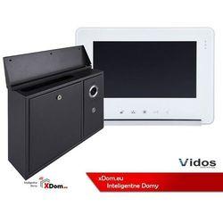 Zestaw s551-skn skrzynka na listy z wideodomofonem, monitor 7'' wideodomofonu m690ws2 marki Vidos
