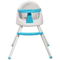Krzesełko do karmienia 4w1 TUTTI niebieskie
