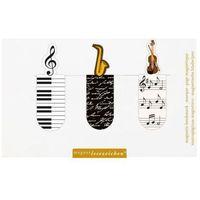 Magnetyczne zakładki do książek - muzyka marki Dvd podróże marzeń