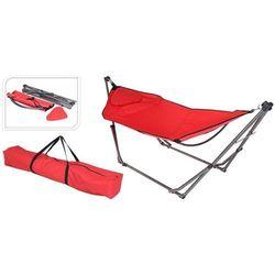 Hamak ogrodowy fotel hamakowy ze stojakiem dobrebaseny (8719202487213)