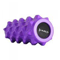 Hms Wałek do masażu  roller fitness 31.5cm fioletowy (5907695507454)