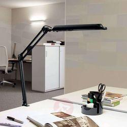 Lampka LED na biurko MAULatlantic, 9W, mocowana zaciskiem, czarna