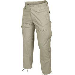 spodnie Helikon CPU CottonRipstop khaki LONG (SP-CPU-CR-13), kolor beżowy