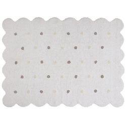Lorena canals Dywan do prania w pralce: galleta - blanco/white (120x160 cm)
