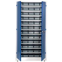 Szafa warsztatowa z pojemnikami, 60 pojemników, 1900x1000x400 mm marki Aj produkty