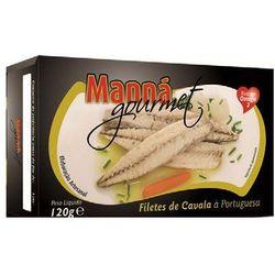 Portugalskie filety z makreli atlantyckiej po portugalsku 120g , marki Manná gourmet