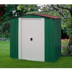 Arrow Domek ogrodowy blaszany dresden 1,8 x 1,5 m