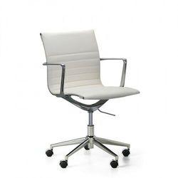 Krzesło konferencyjne exclusive, białe marki B2b partner