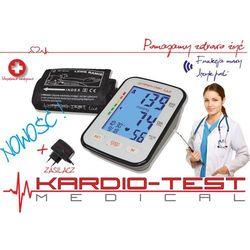 Ciśnieniomierz naramienny elektroniczny mówiący w j.polskim kta-k6 comfort+zasilacz marki Hi-tech medical kardio-test