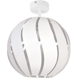 GLOBUS SKOS biały 1 plafon L - lampa sufitowa (5902335264612)
