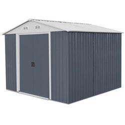 Hecht 10x8 plus domek ogrodowy na narzędzia ciemnoszary wiata meble ogrodowe - ewimax oficjalny dystrybutor - autoryzowany dealer hecht marki Hecht czechy