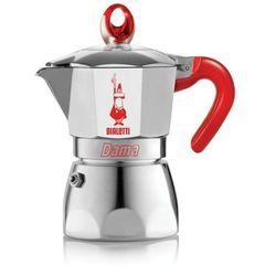 Kawiarka BIALETTI Dama Vanity 3 TZ Czerwony z kategorii zaparzacze i kawiarki