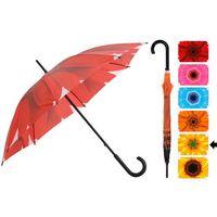 Emako Parasol manualny flower, parasolka - Ø 105 cm (5902891246701)