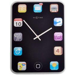 NeXtime - zegar ścienny/stołowy Mini Wall Pad