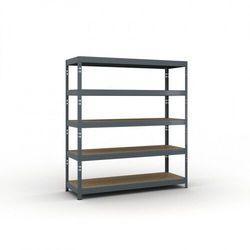 Regał półkowy 2000 x 1800 x 600 mm, nośność 600 kg marki B2b partner