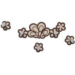 Wieszak ścienny merletto  czekoladowy marki Calleadesign
