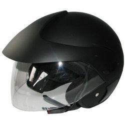 Kask motocyklowy MOTORQ Torq-o3 otwarty czarny mat (rozmiar XS) + Zamów z DOSTAWĄ JUTRO! (5908277319540)