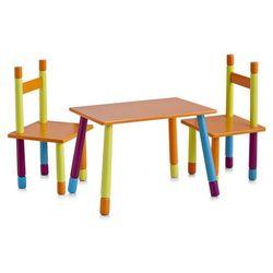 Stolik dziecięcy color + 2 krzesełka marki Zeller