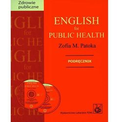 English for public health + 2 CD Podręcznik, rok wydania (2008)
