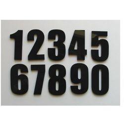 Numer, Numery na Drzwi z Czarnej lub Szarej Pleksi