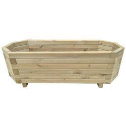Skrzynia ogrodowa, impregnowane drewno sosnowe, 100x40x31cm
