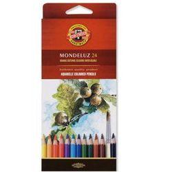 Kredki akwarelowe KOH-I-NOOR Mondeluz 3718 24 kolory - sprawdź w wybranym sklepie
