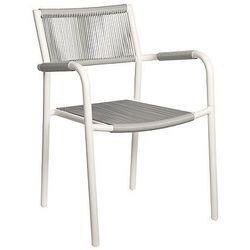 Krzesło ogrodowe szary SHELLY, kup u jednego z partnerów