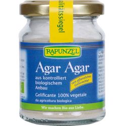 Agar Agar - Substancja Żelująca 60g EKO - Rapunzel