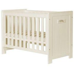 BARCELONA łóżko dziecięce 120x60 - biały - produkt z kategorii- Łóżeczka i kołyski