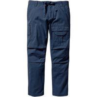 Spodnie bojówki Regular Fit Straight bonprix ciemnoniebieski, kolor niebieski